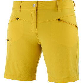 Salomon Wayfarer Shorts Damer, lemon curry